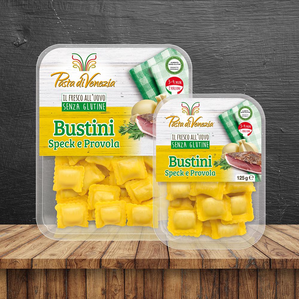 Bustini Speck e Provola - Pasta di Venezia