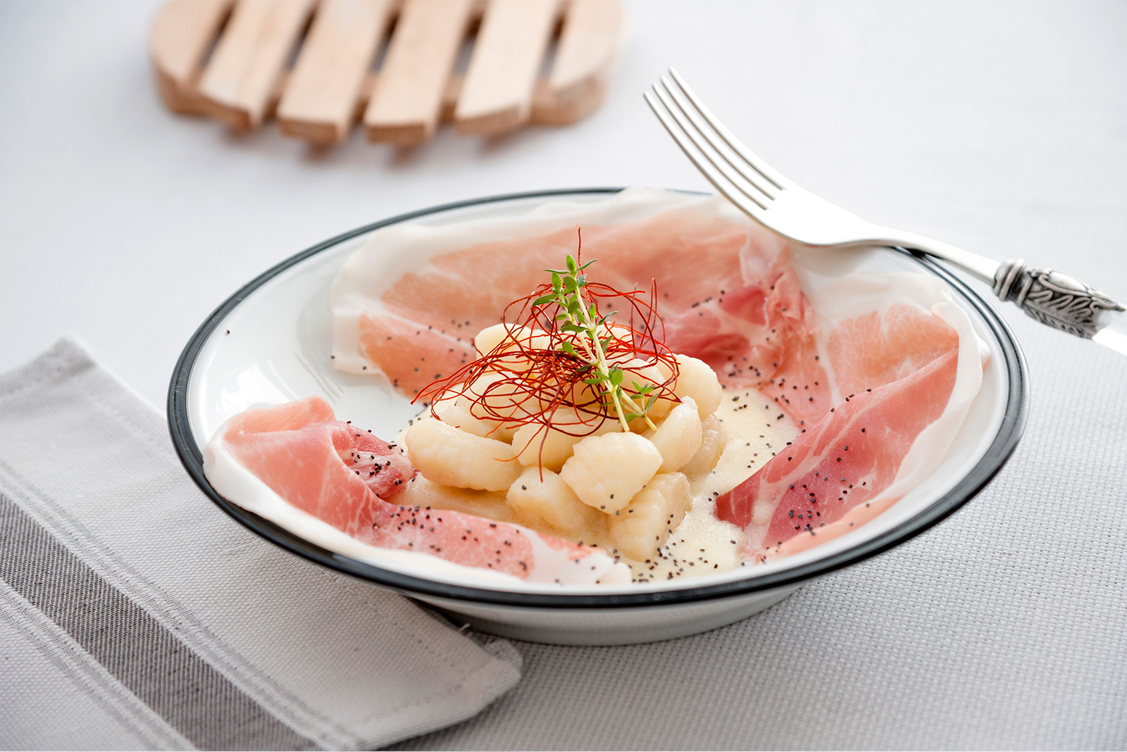 Ricetta Gnocchi Senza Glutine Prosciutto Crudo Pasta di Venezia