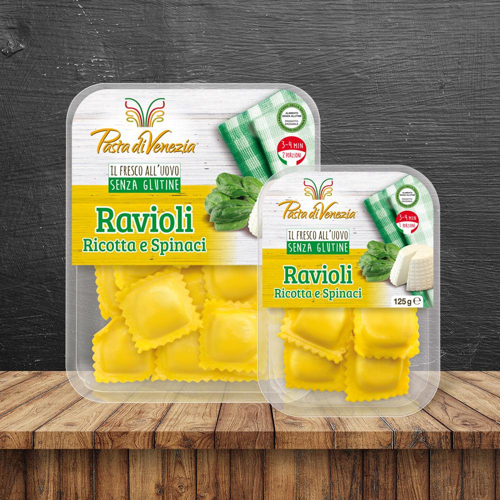 Ravioli Ricotta e Spinaci - Pasta di Venezia
