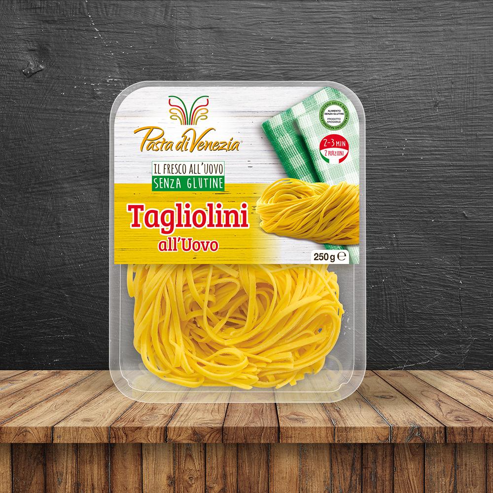 Tagliolini all'Uovo - Pasta di Venezia