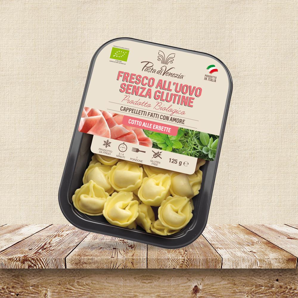 Cappelletti senza glutine per celiaci - Pasta di Venezia