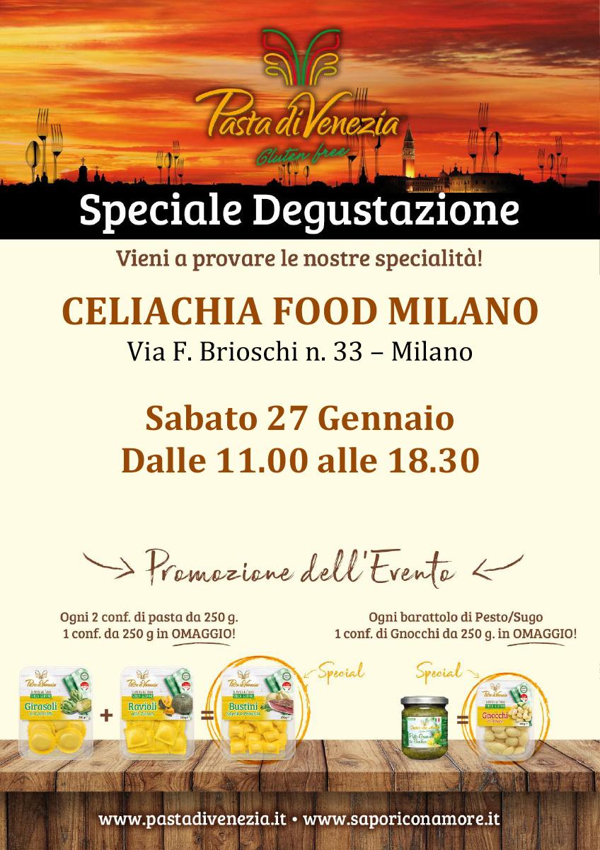 Evento Degustazione Milano Pasta di Venezia