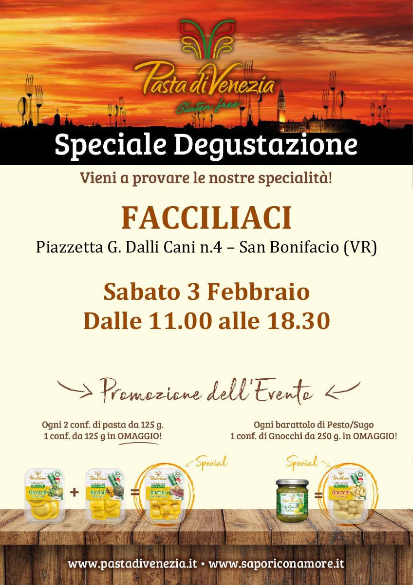 Evento di Degustazione a San Bonifacio di Pasta di Venezia