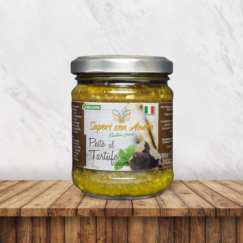 Condimento Senza Glutine al Pesto Rosso alla Rucola - Sapori con Amore