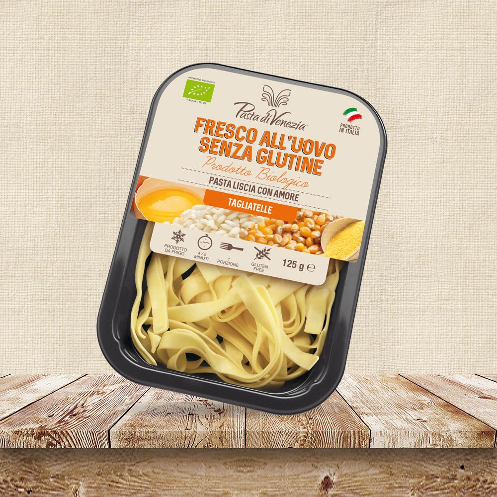 Tagliatelle fresche senza glutine per celiaci - Pasta di Venezia