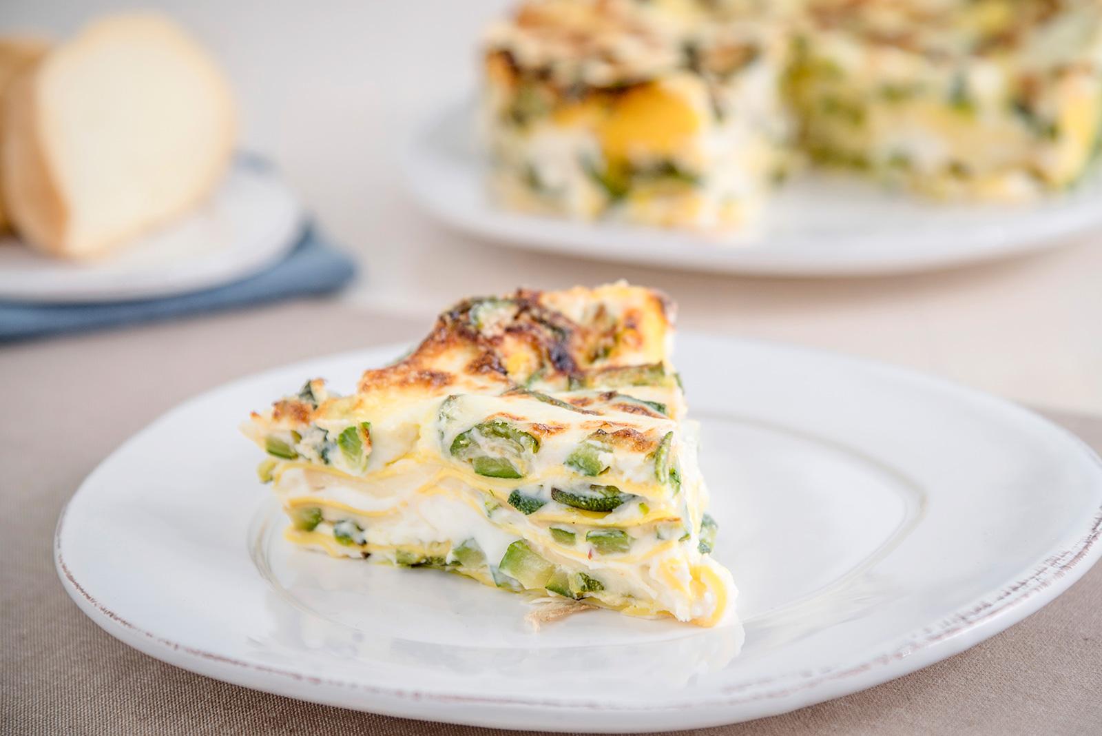 Ricetta Lasagna alle zucchine con scamorza affumicata Senza Glutine