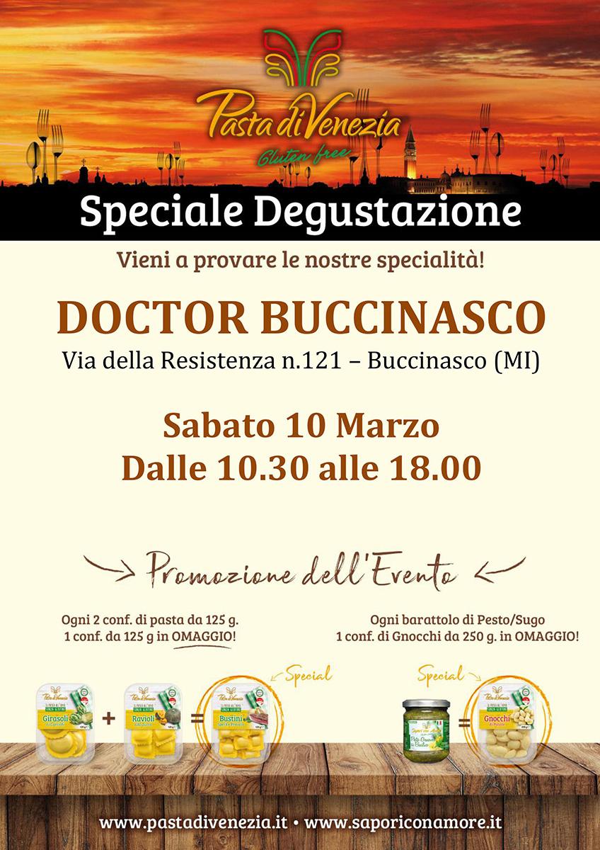 Evento di Degustazione a Buccinasco di Pasta di Venezia
