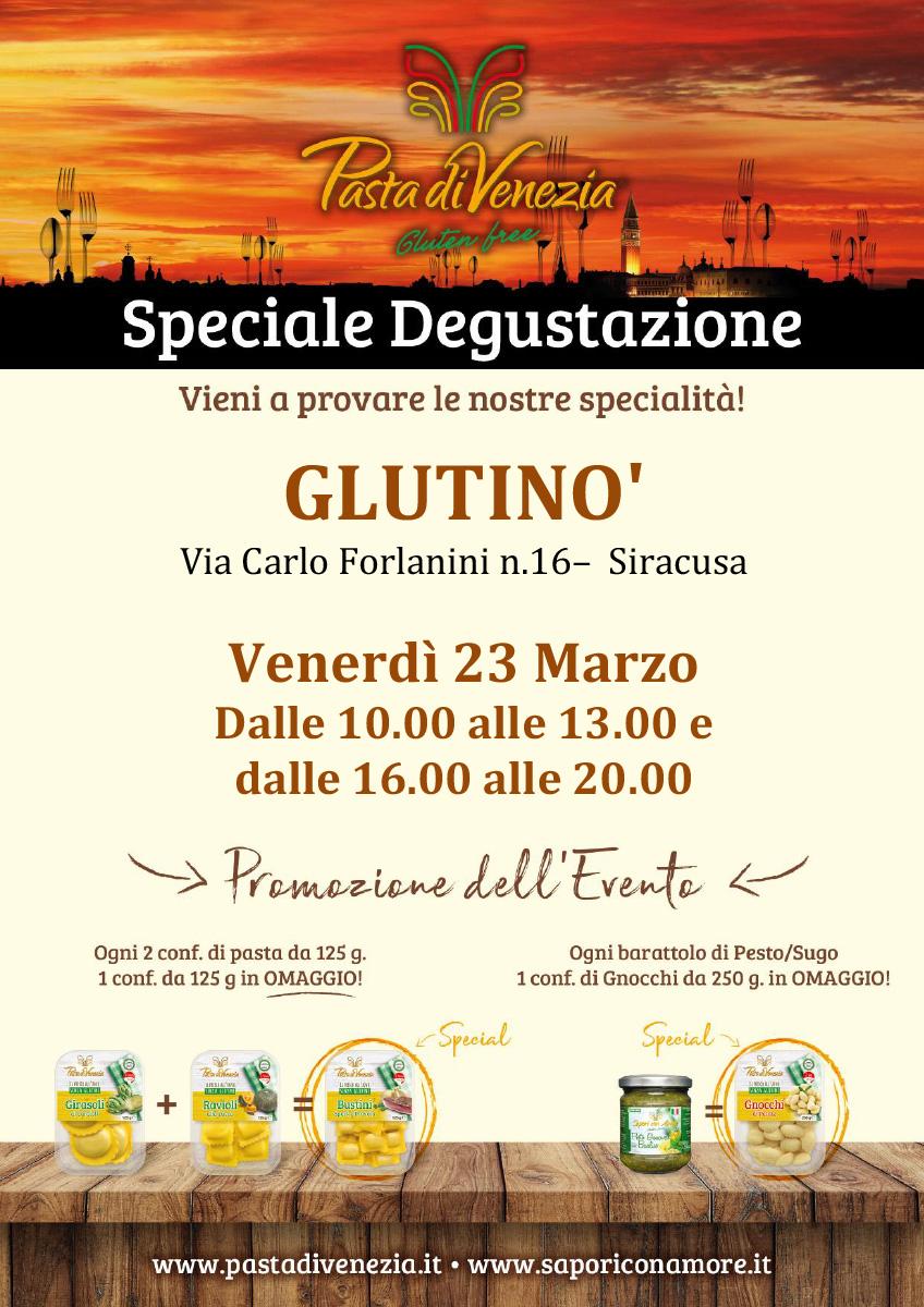 Evento di Degustazione a Siracusa di Pasta di Venezia