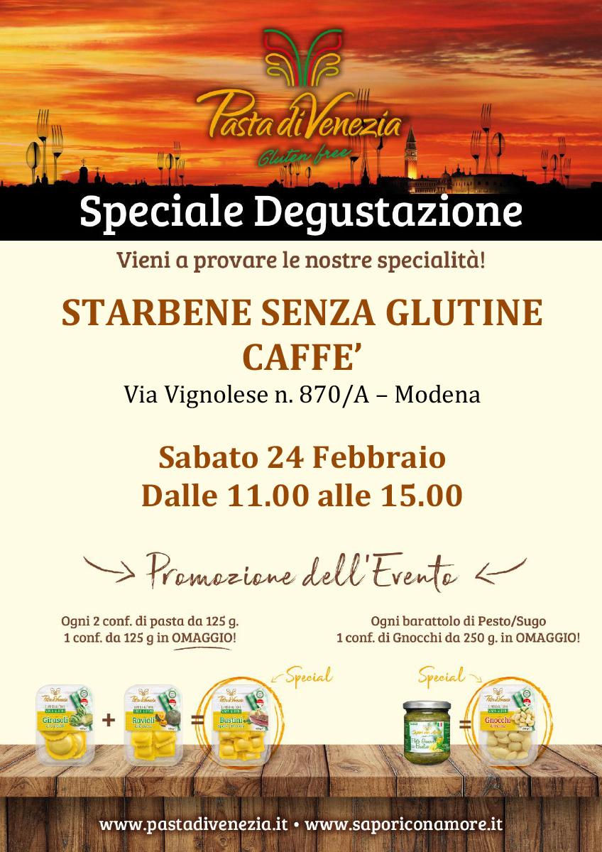 Evento di Degustazione a Modena di Pasta di Venezia