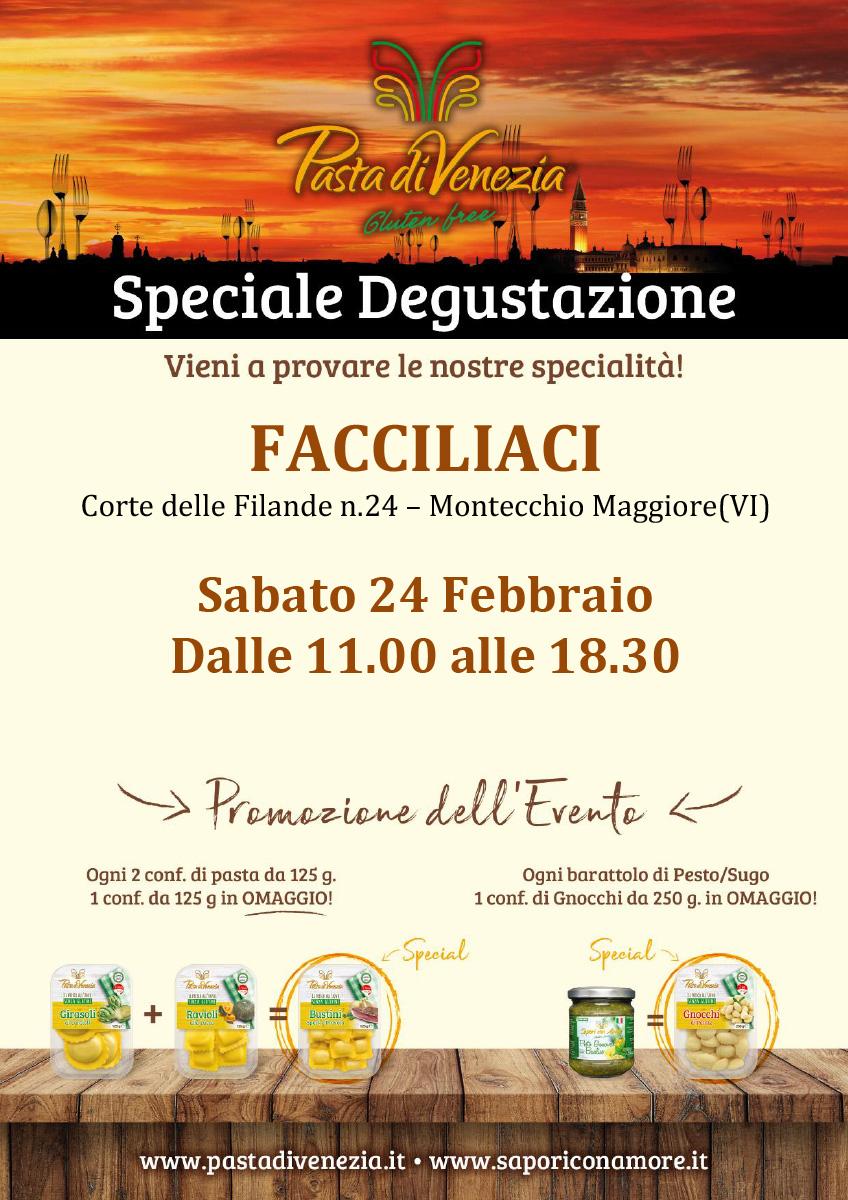Evento di Degustazione a Montecchio Maggiore di Pasta di Venezia
