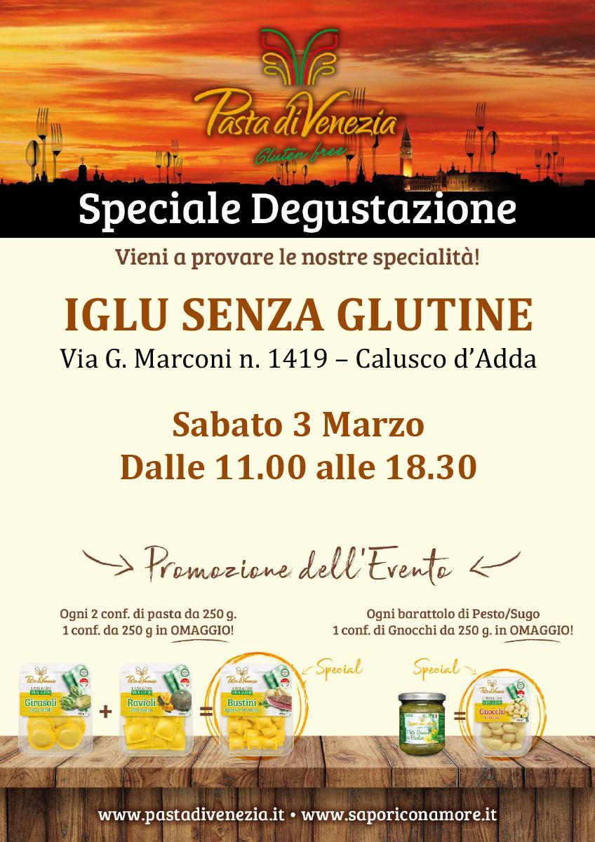 Evento di Degustazione a Calusco d'Adda di Pasta di Venezia