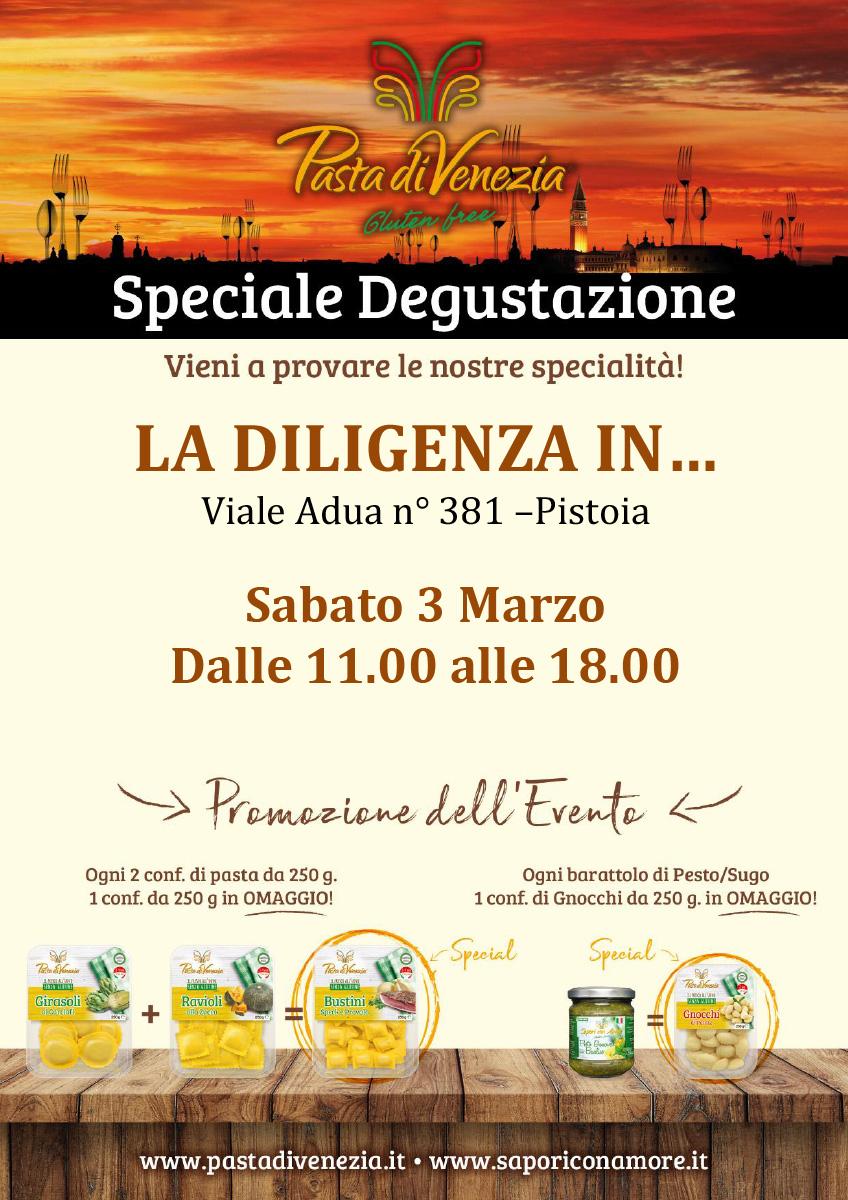 Evento di Degustazione a Pistoia di Pasta di Venezia