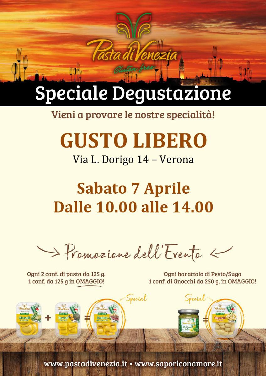 Evento di Degustazione a Verona di Pasta di Venezia