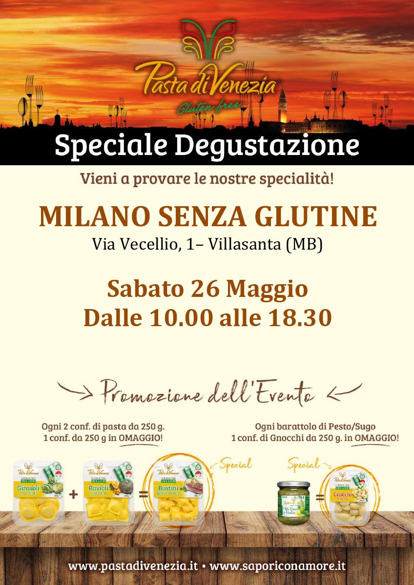 Degustazione Pasta di Venezia Milano