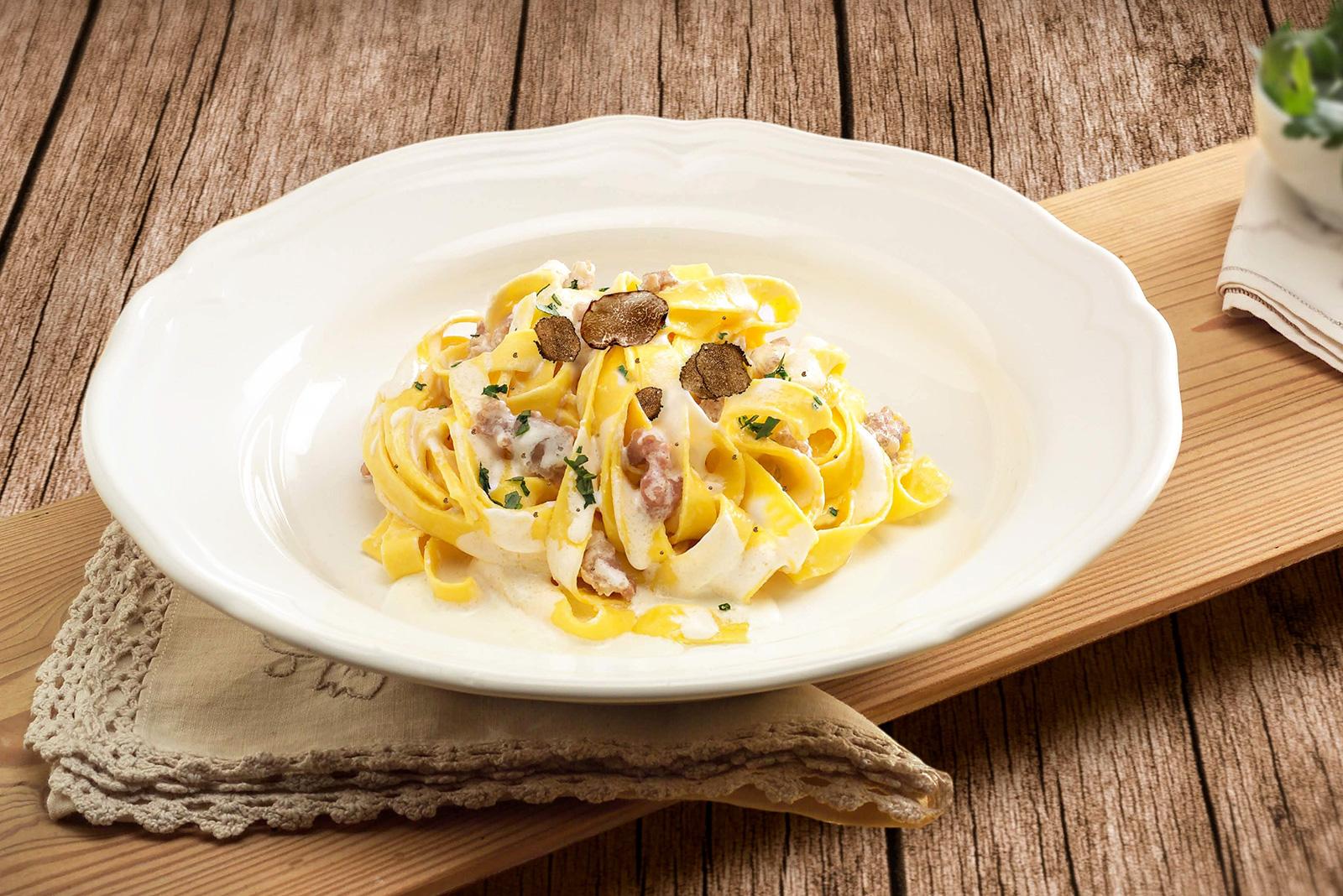 Ricetta Tagliatelle Norcina Senza Glutine - Pasta di Venezia
