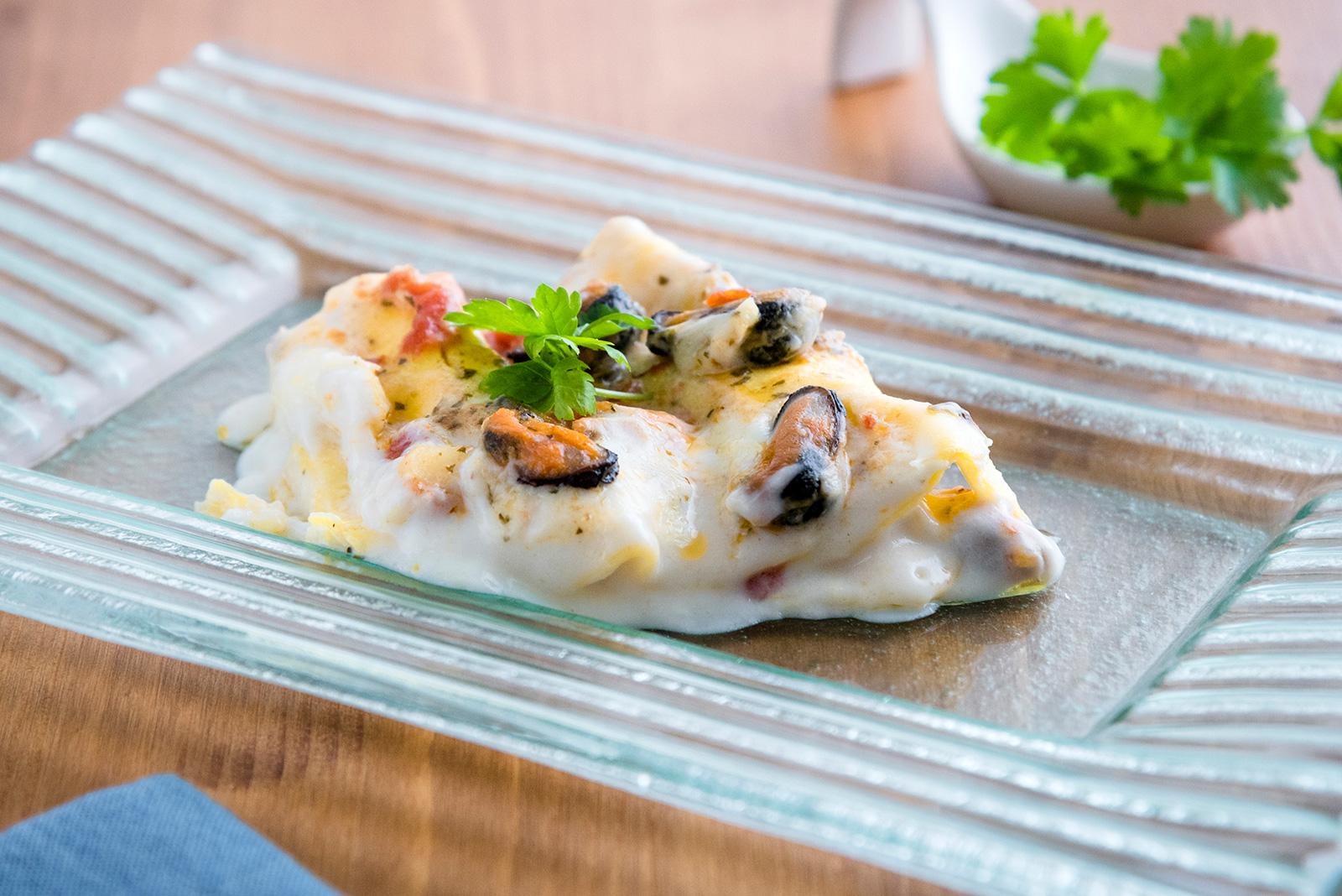 Ricetta Lasagna Senza glutien ai Frutti di mare - Pasta di Venezia