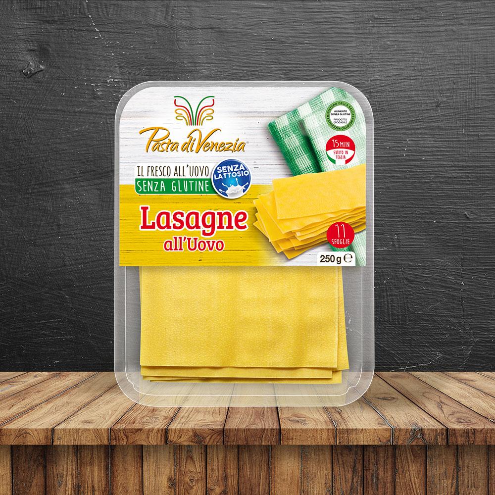 Lasagne all'uovo biologiche Senza Glutine - Pasta di Venezia