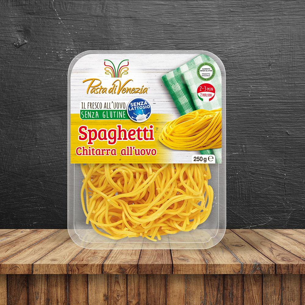 Spaghetti all'uovo biologici e Senza Glutine - Pasta di Venezia