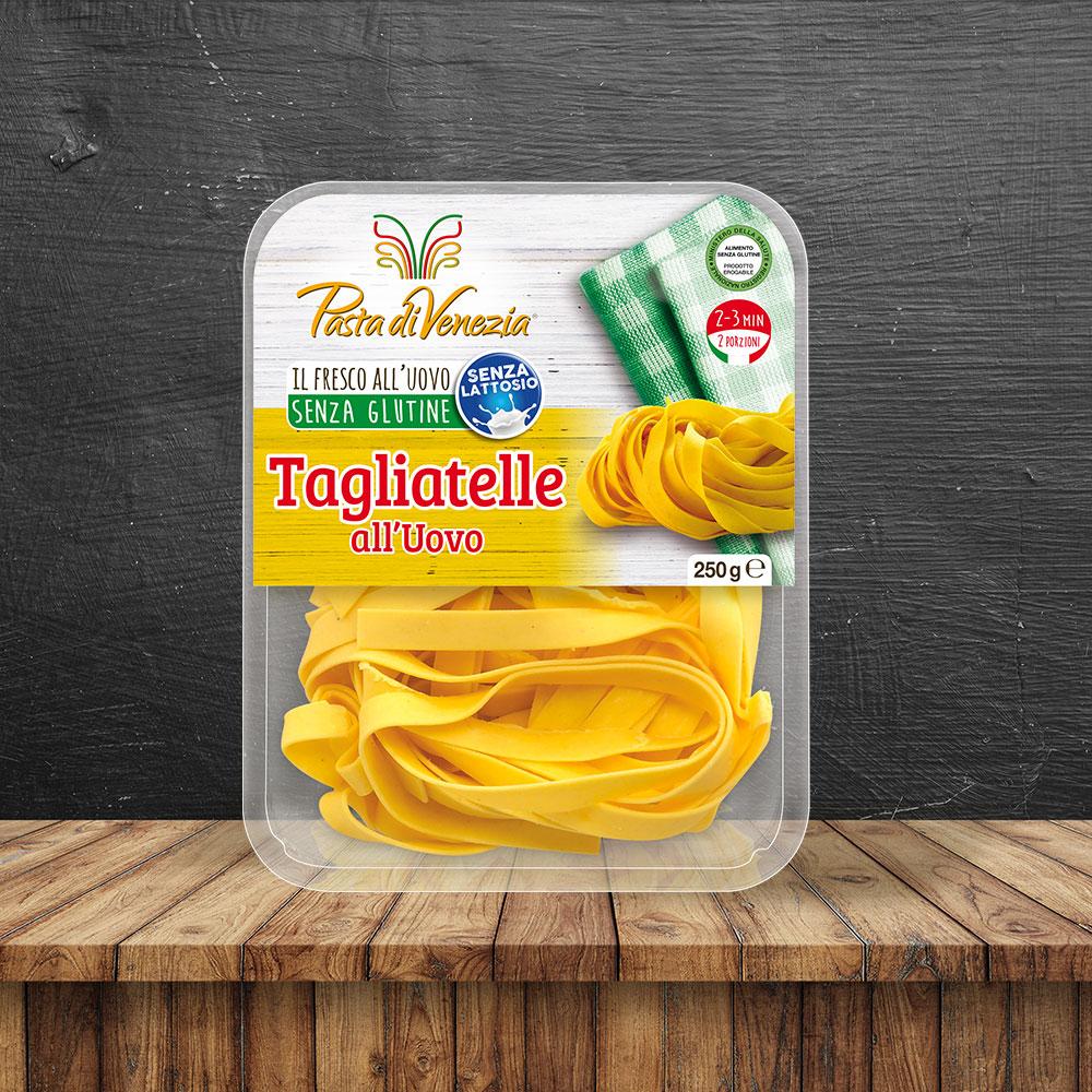 Tagliatelle all'uovo biologiche e Senza Glutine - Pasta di Venezia
