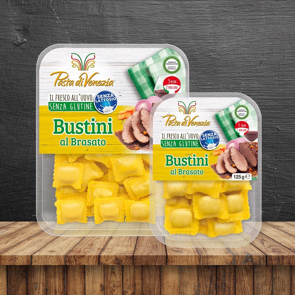 Bustini al Brasato Senza Glutine e Senza Lattosio - Pasta di Venezia
