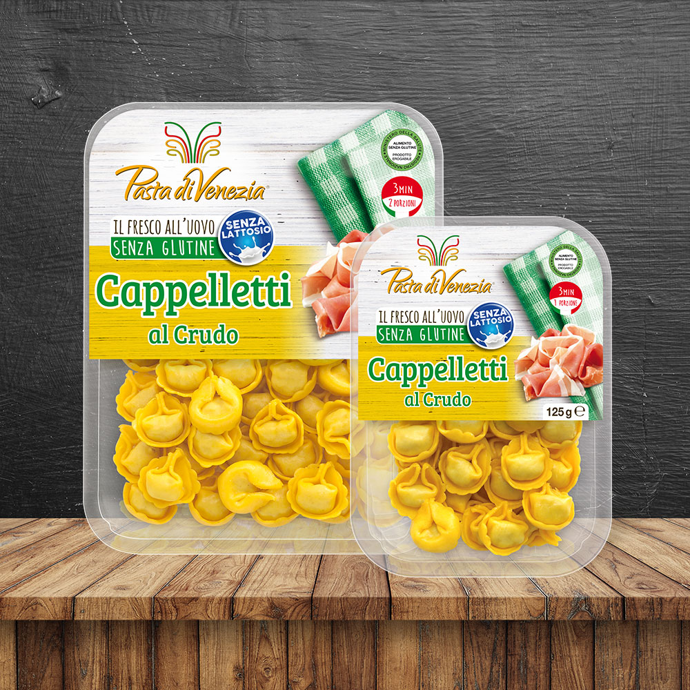 Cappelletti al Crudo Senza Glutine e Senza Lattosio - Pasta di Venezia