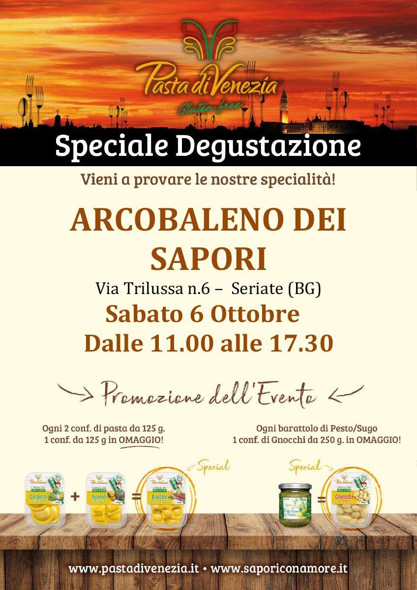 Degustazione Pasta di Venezia Seriate