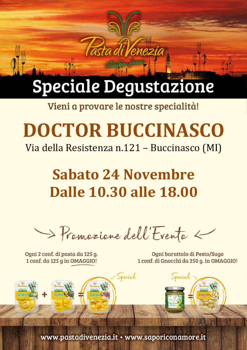 Degustazione Pasta di Venezia - Buccinasco