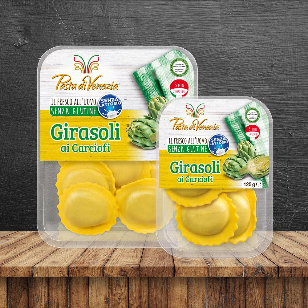 Girasoli ai Carciofi Senza Glutine e Senza Lattosio - Pasta di Venezia